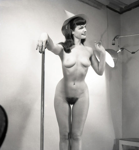 BETTIE PAGE pinup nude 31 8x8