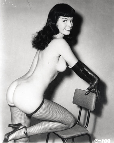 BETTIE PAGE pinup nude 32 8x10
