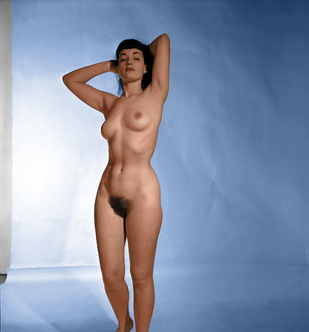 BETTIE PAGE pinup nude 34 8x8