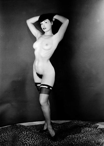 BETTIE PAGE pinup nude 36 8x10
