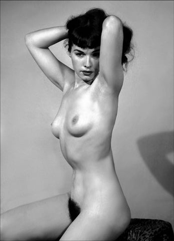 BETTIE PAGE pinup nude 37 8x10