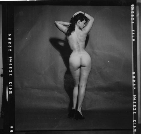 BETTIE PAGE pinup nude 4 8x8