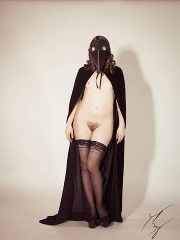 plague doctor limited edition fine art print signed and numbered