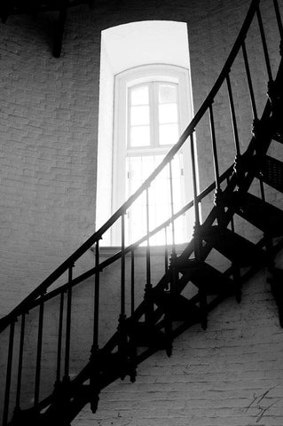 Lighthouse staircase limited edition fine art print signed and numbered