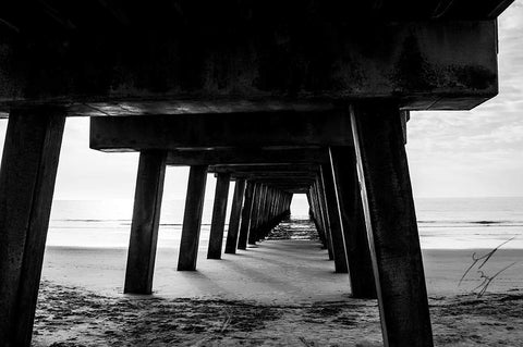 Tybee Island Pier 2 limited edition fine art print signed and numbered