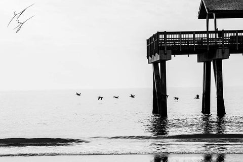 Tybee Island Pier limited edition fine art print signed and numbered