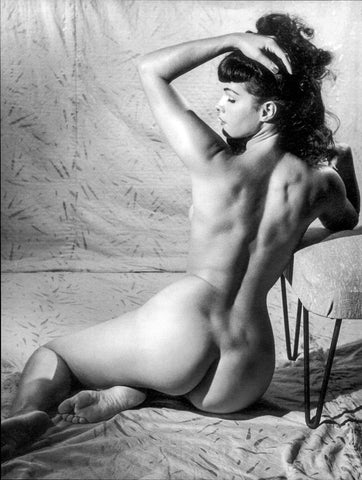 BETTIE PAGE pinup nude 8 8x10
