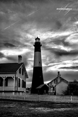 Storm Front Tybee Island Lighthouse