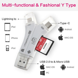 4 in 1 Multifunctional Flash Drive