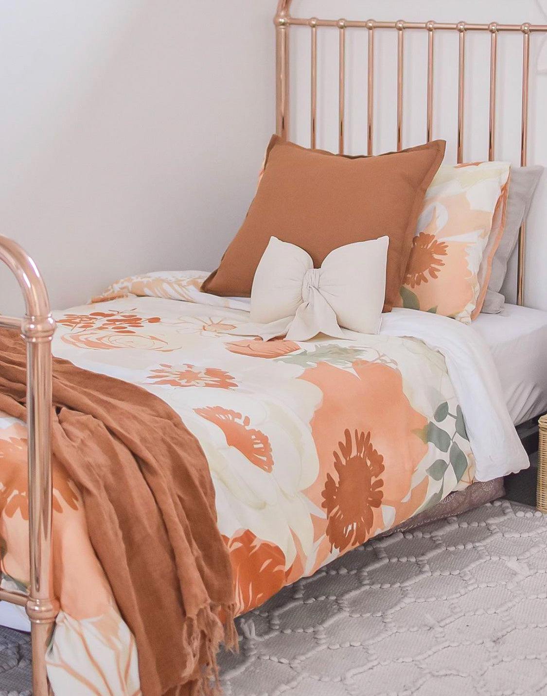 Savannah and Three Reversible Single Bed Quilt Cover