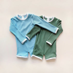 Boys Long-sleeved Rashie Bodysuit