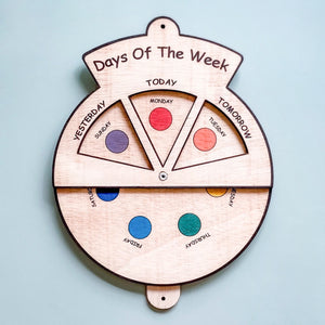 Days of the Week Wheel