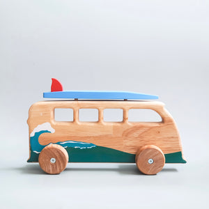 Wooden Surfing Van