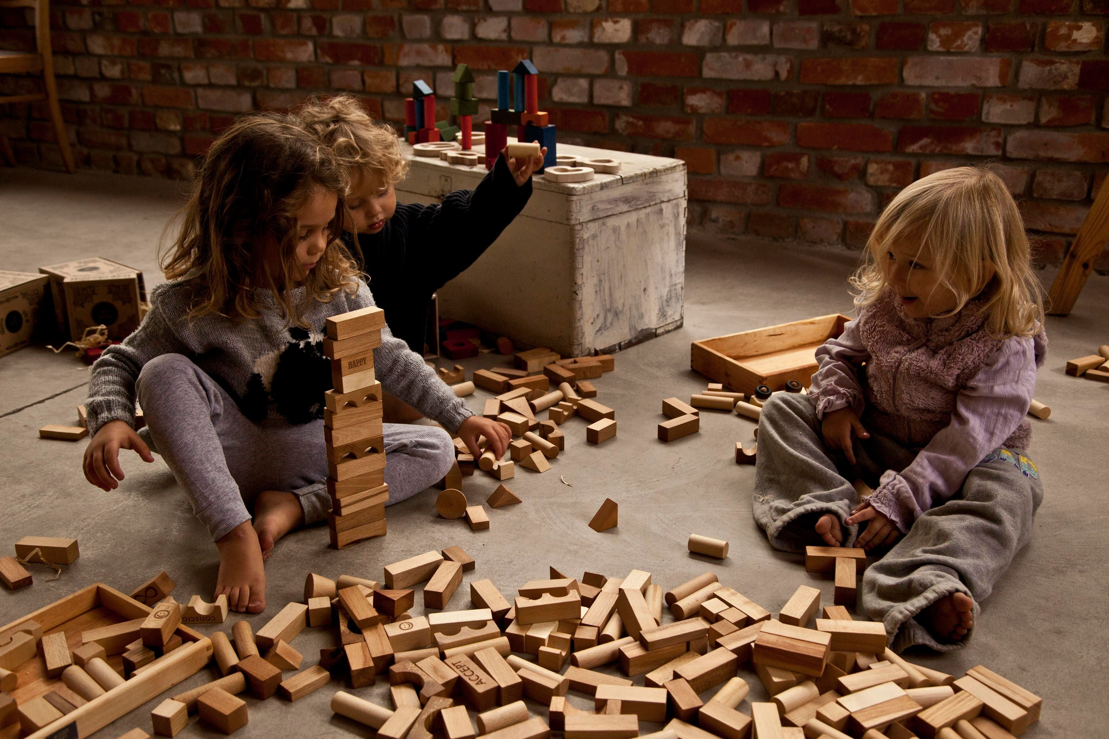 Blocks In Tray 63 Pieces