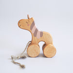 Load image into Gallery viewer, Friendly Toys Pull Toy Unicorn