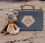 Load image into Gallery viewer, Maileg Superhero Mouse in Suitcase