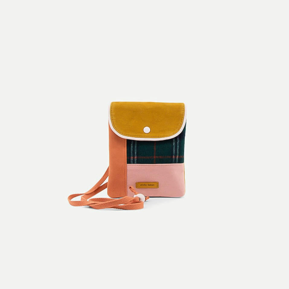 Sticky Lemon Wallet Bag - Forest Green
