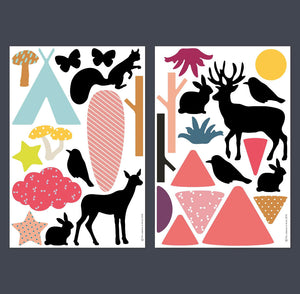 Woods Magnet Set