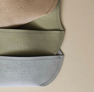 Henlee Vegan Leather Bib