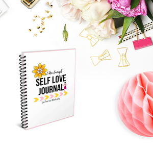 I Am Enough Self Love Journal