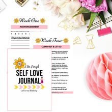 Load image into Gallery viewer, I Am Enough Self Love Journal