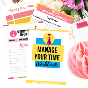 Manage Your Time Workbook
