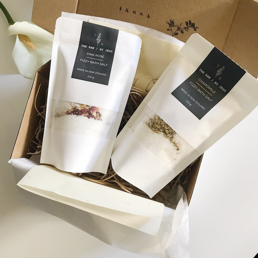Bath Salt Set - Rejuvenating