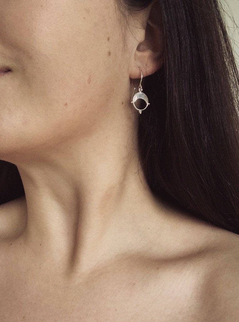 Wax + Wane earrings