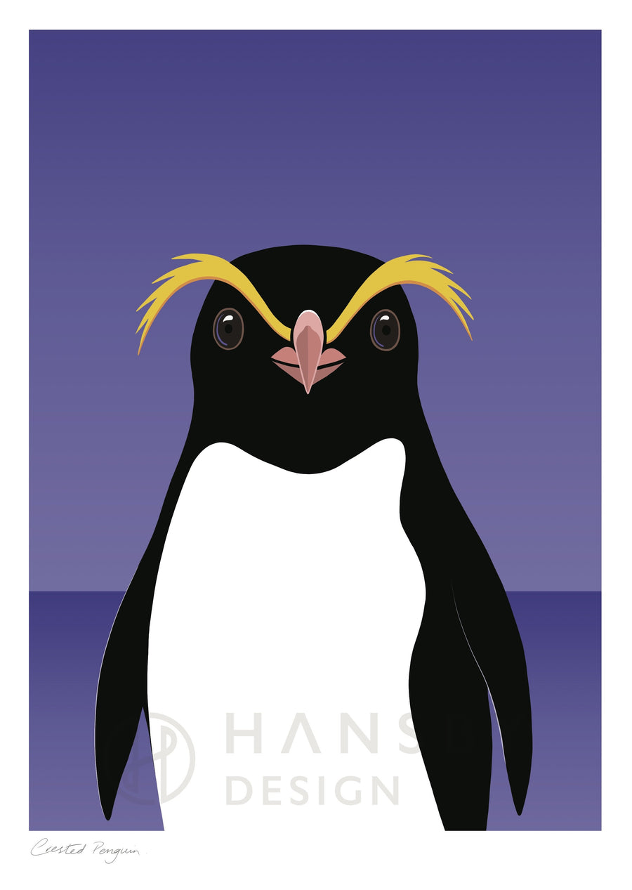 Crested Penguin - Local Artisan
