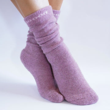 N line Socks, Brush Pink