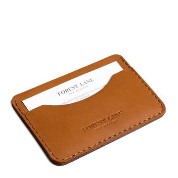Cedar Card Holder - Tan - Local Artisan