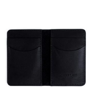 Henley Wallet - Black - Local Artisan