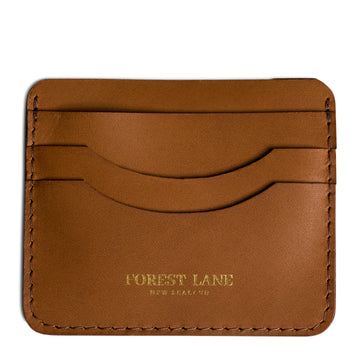 Knox Card Holder - Tan - Local Artisan