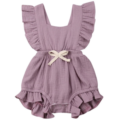 Maybell Romper Light Purple
