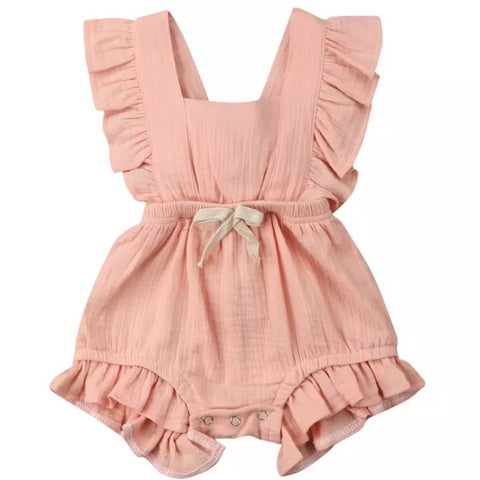 Maybell Romper Blush