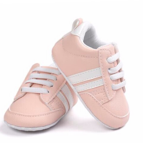 Pumps - Pink & White Stripes