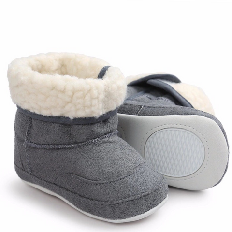 Ugg Boots Fluffy Grey