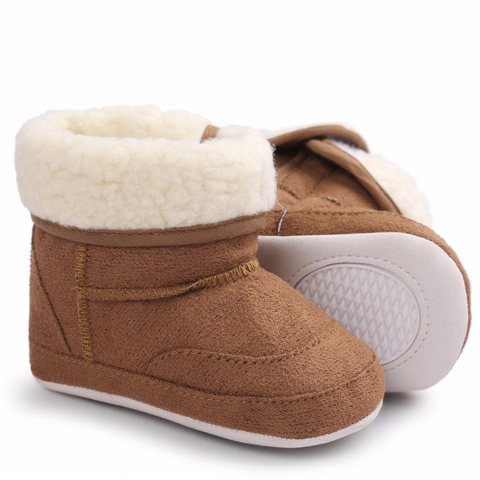 Ugg Boots Fluffy Brown