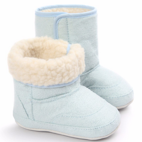 Ugg Boots Fluffy Light Blue