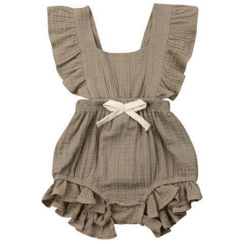 Maybell Romper Green