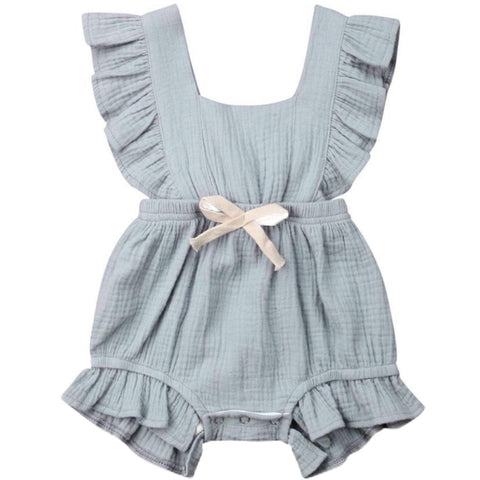 Maybell Romper Grey