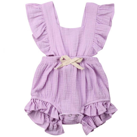 Maybell Romper Pastel Purple