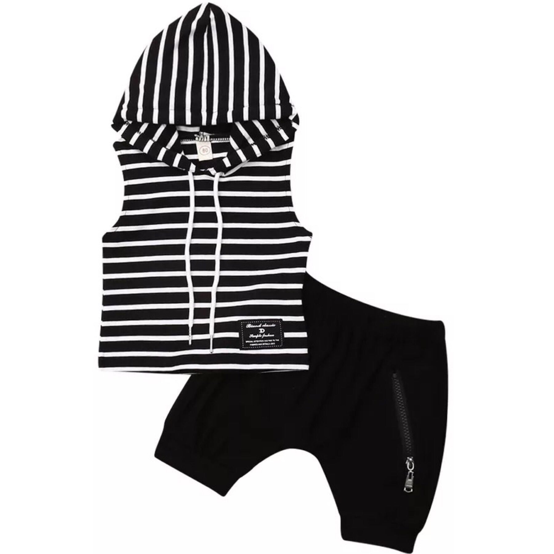 Stripe Tank Short Set