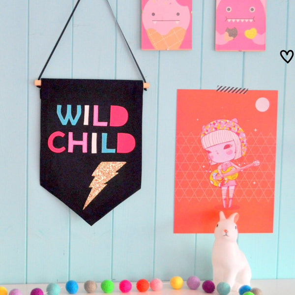 Noodle Doll Wild Child Banner