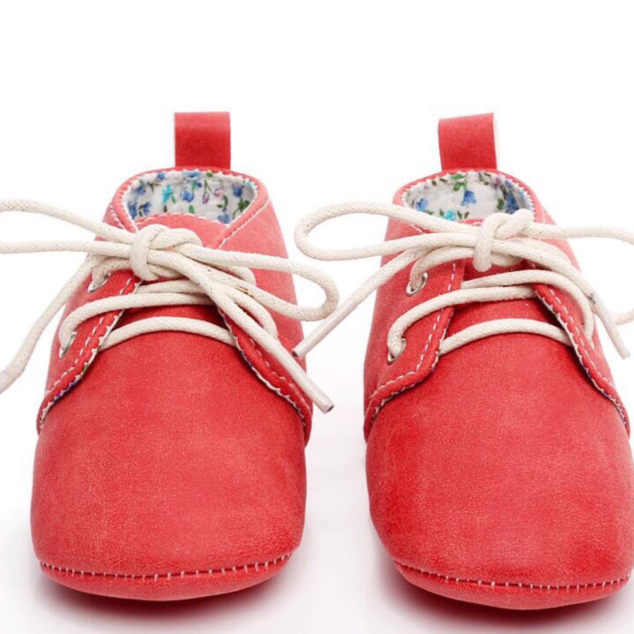 Baby Oxfords Red