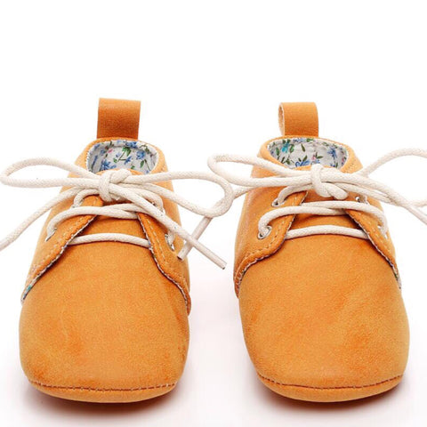 Baby Oxfords Orange