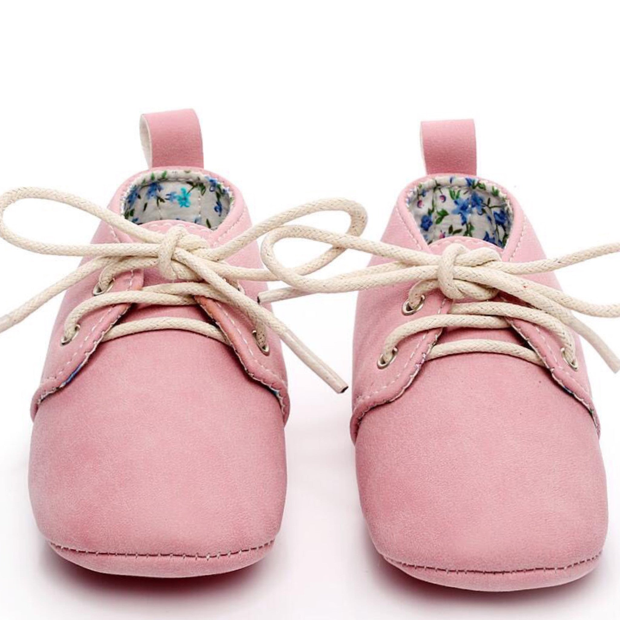 Little ee Baby Oxfords Pink