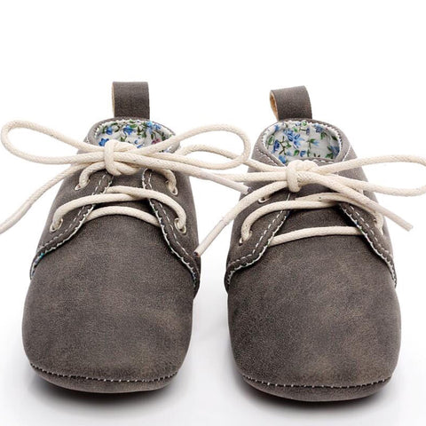Baby Oxfords Grey