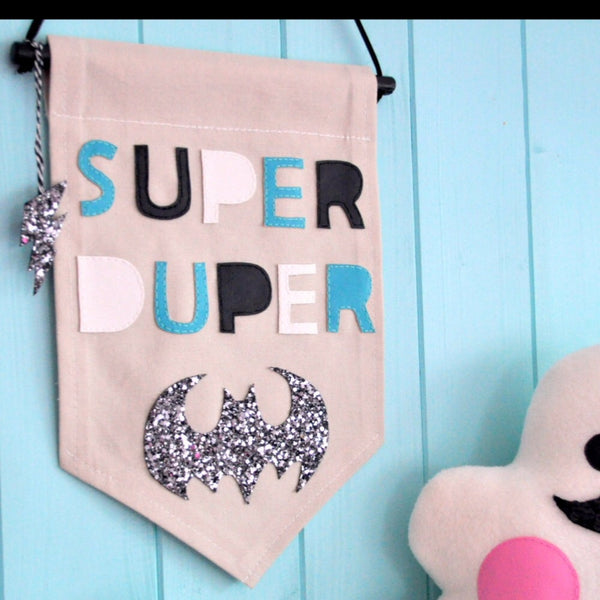 Noodle Doll Super Duper Batman Banner