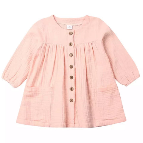 Missy Smock Dress Blush